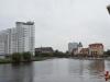 Kaliningrad (Königsberg). Veduta dal lungofiume.