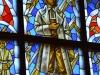 Čistyje Prudy (Tolminkiemis). Vetrate della chiesa dedicate al poeta e al poema