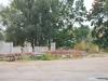 Gusev (Gumbinė). Cantiere per la costruzione di una chiesa ortodossa sui resti dell'antica chiesa luterana.