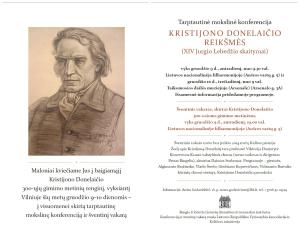 Conferenza Vilnius